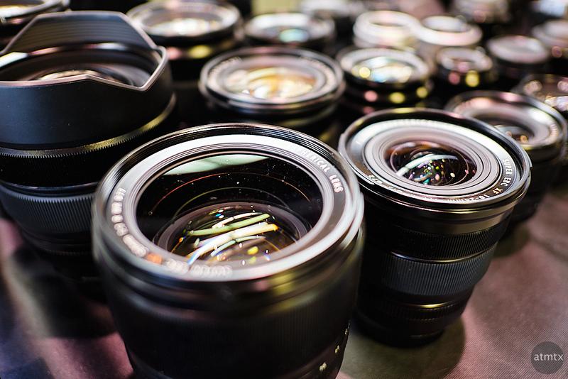 Fuji Lenses, Precision Camera Expo - Austin, Texas