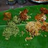Lunch on a Banana Leaf - Bangalore, India