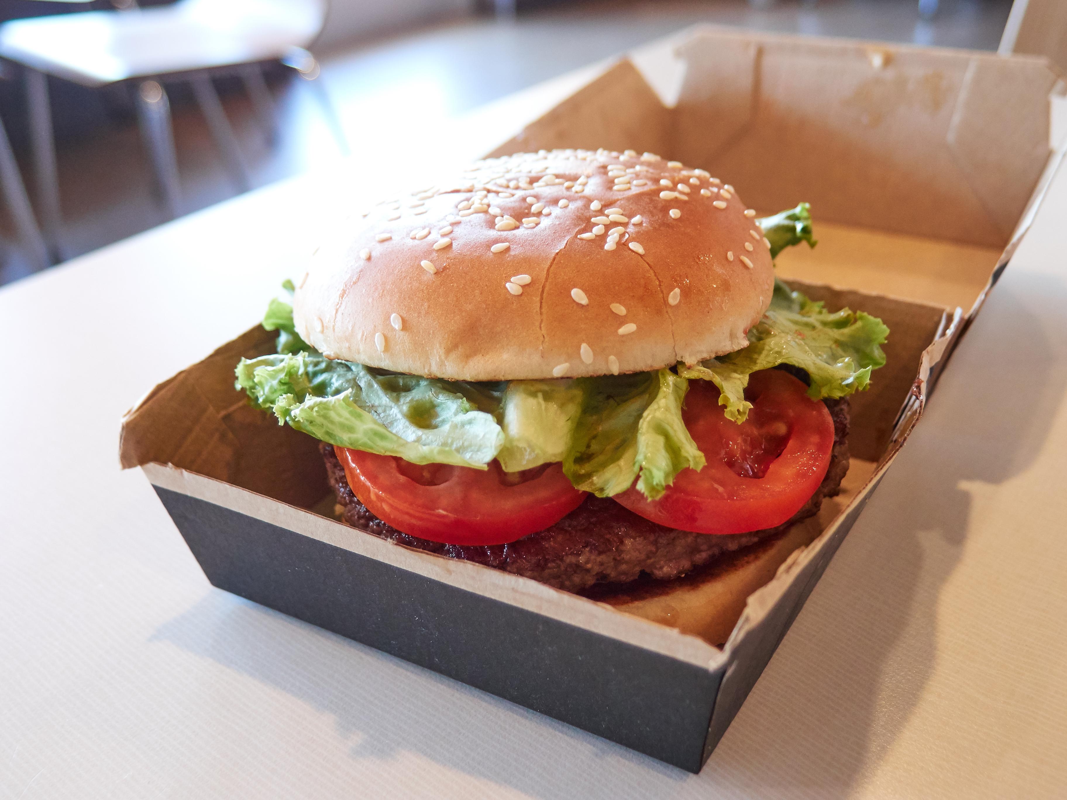 Quarter Pounder Deluxe, McDonald's - Austin, Texas