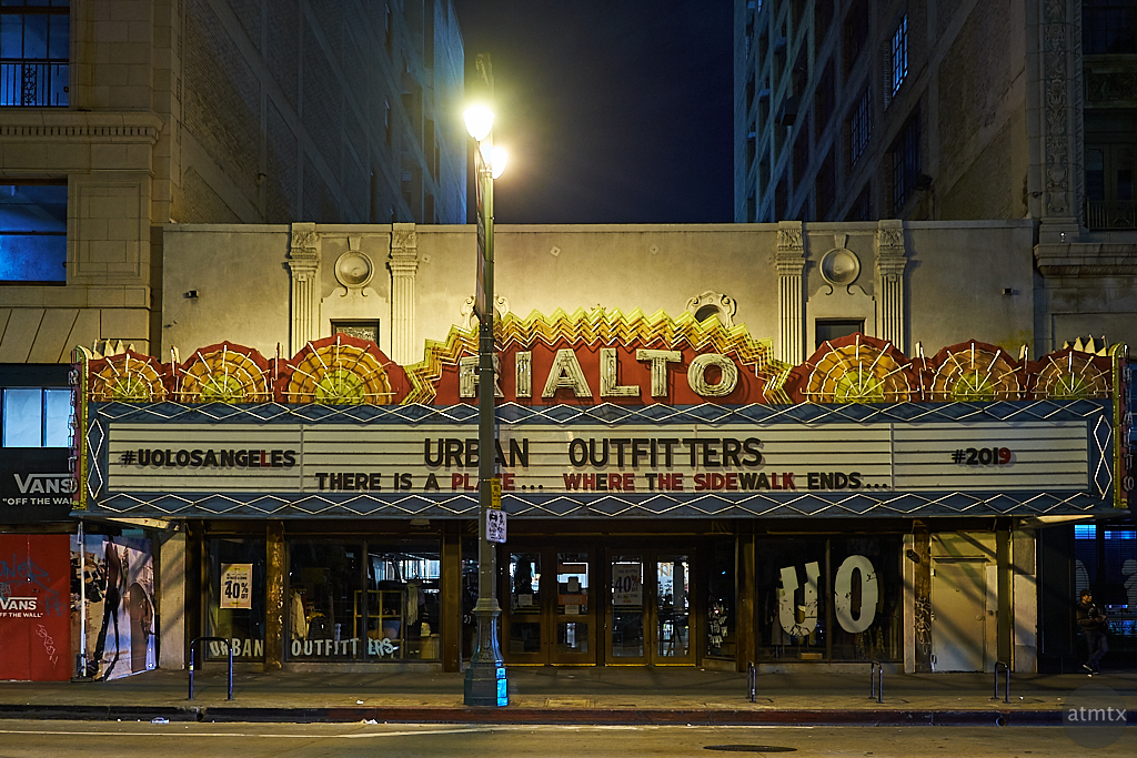 Rialto Theater - Los Angeles, California