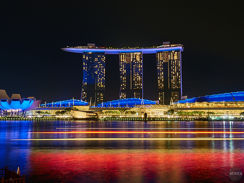 Motion Blur, Marina Bay Sands - Singapore