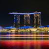 Motion Blur, Marina Bay Sands - Singapore