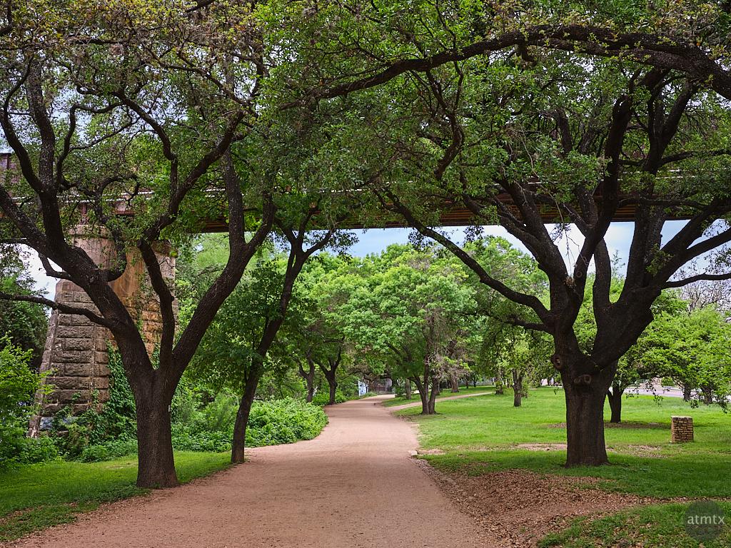 Empty Hike and Bike Trail - Austin, Texas