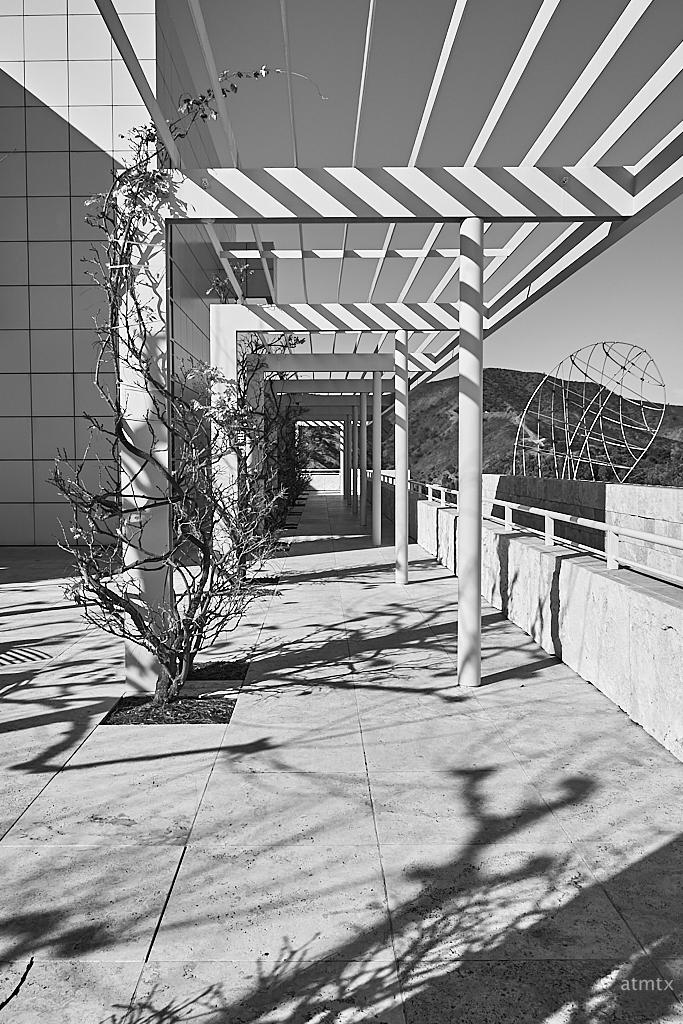 Modernist Pergola, Getty Center - Los Angeles, California