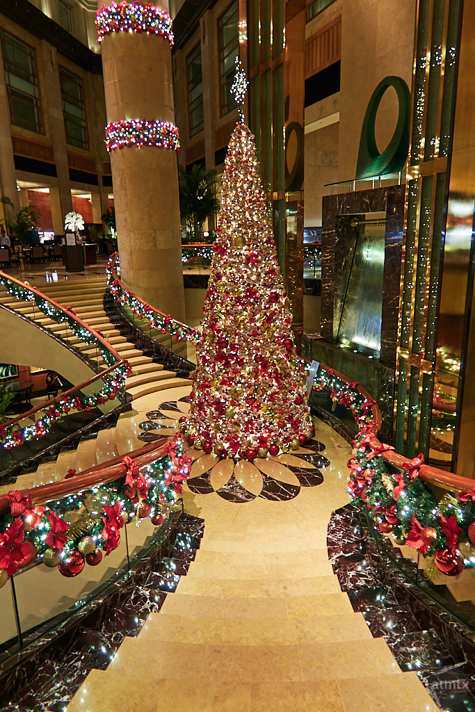 Christmas Tree, Fullerton Hotel - Singapore