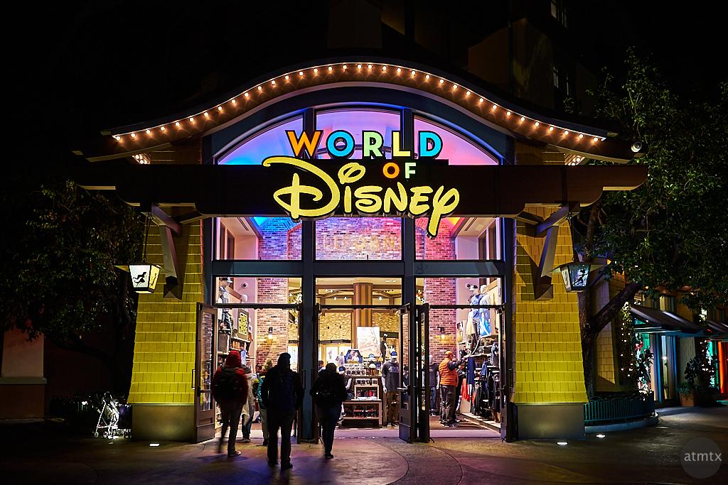 World of Disney at Night - Anaheim, California