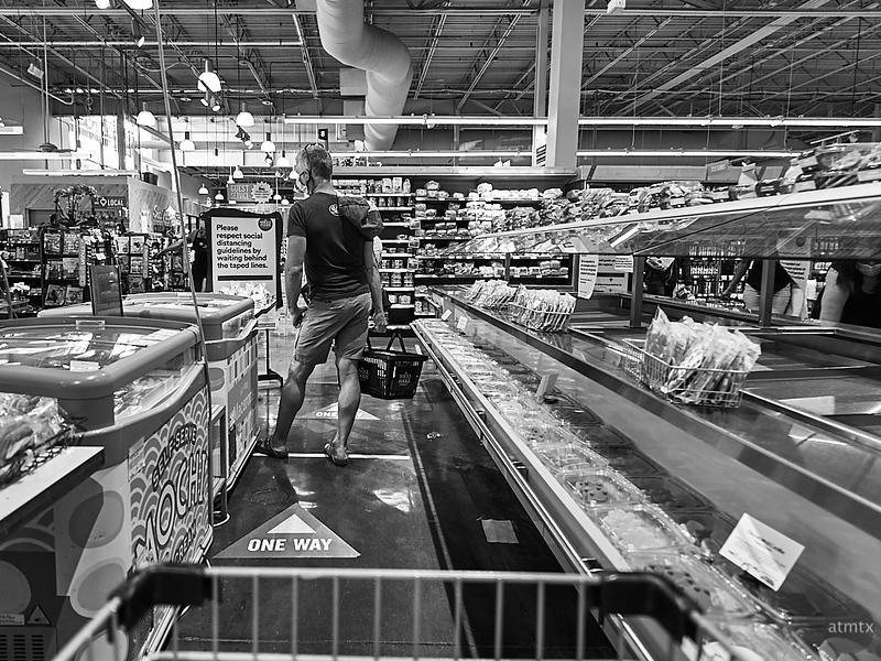 Social Distancing, Whole Foods Market - Austin, Texas