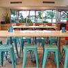 Turquoise Stools, P Terry's - Austin, Texas