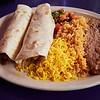 Taco Plate, El Mercado - Austin, Texas