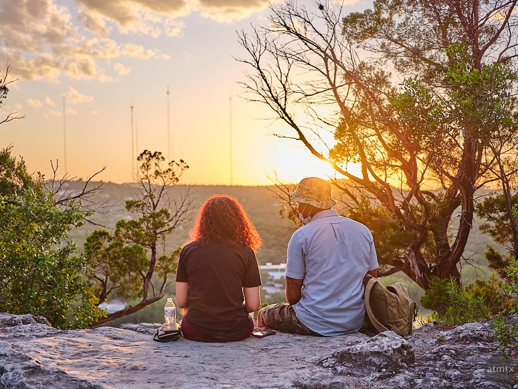Couples, Mount Bonnell - Austin, Texas