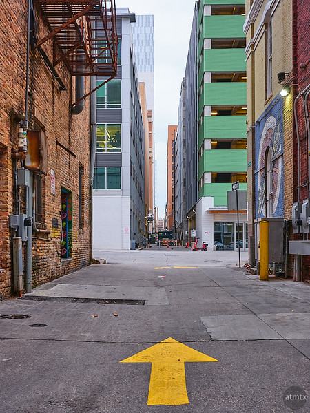 Architectural Alleyway - Austin, Texas