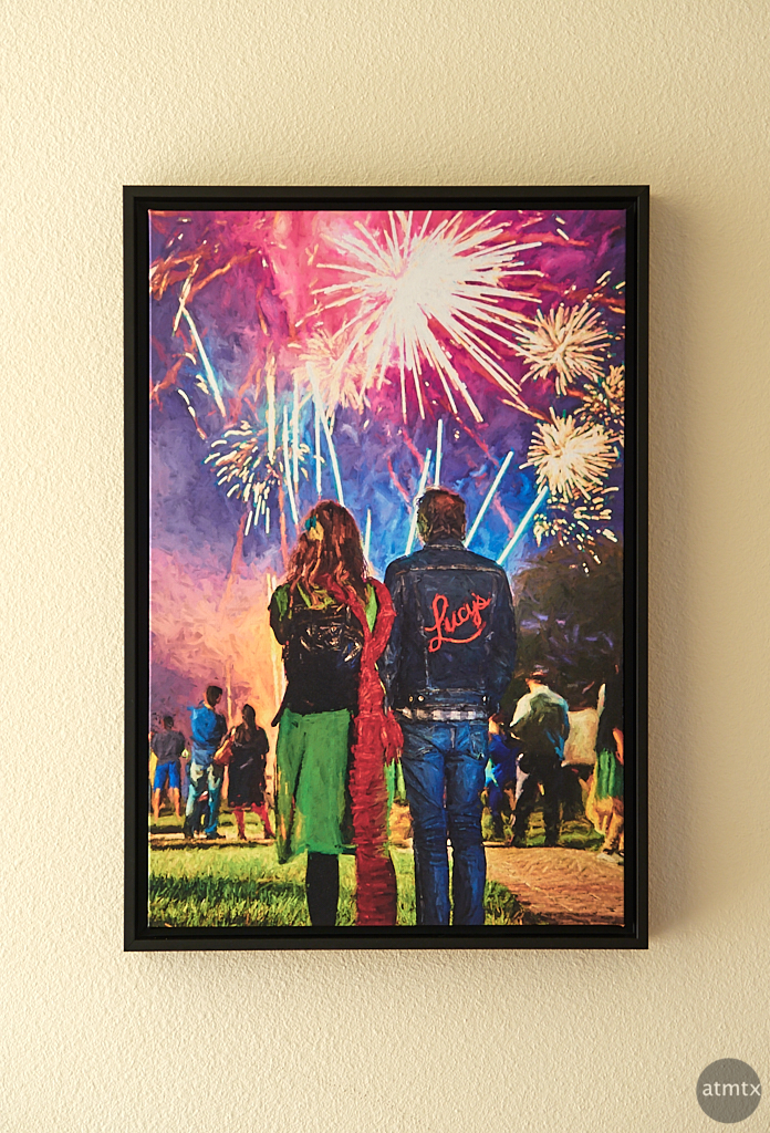 Diwali Fireworks, Printed - Austin, Texas