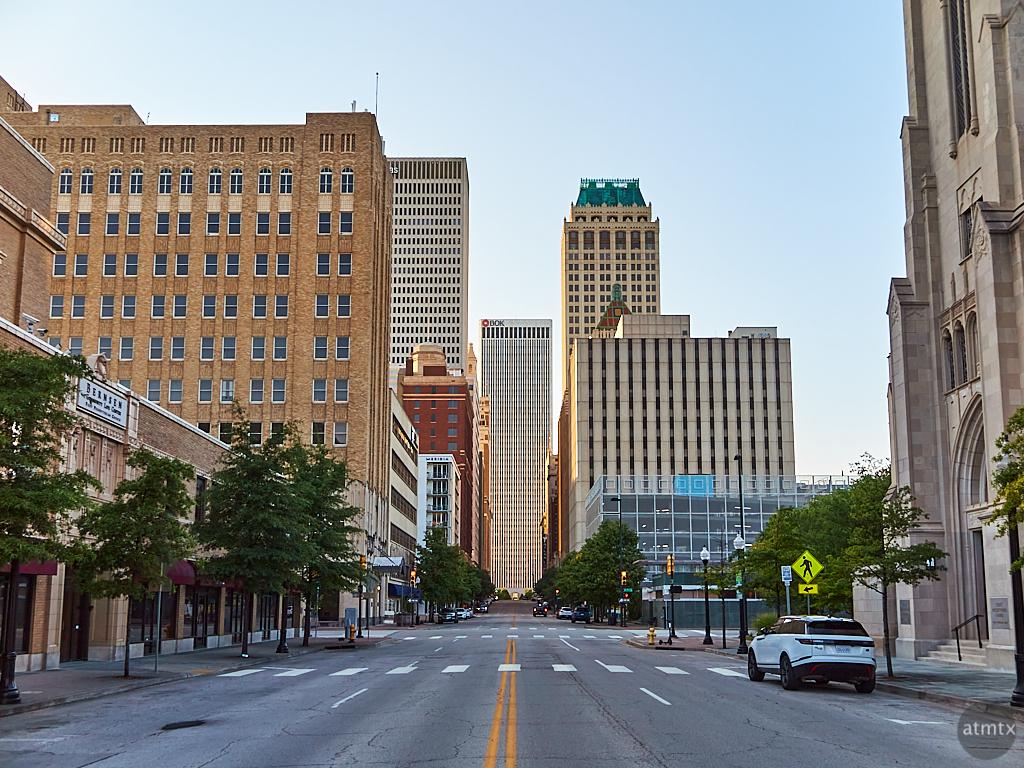 Boston Avenue Looking North - Tulsa, Oklahoma