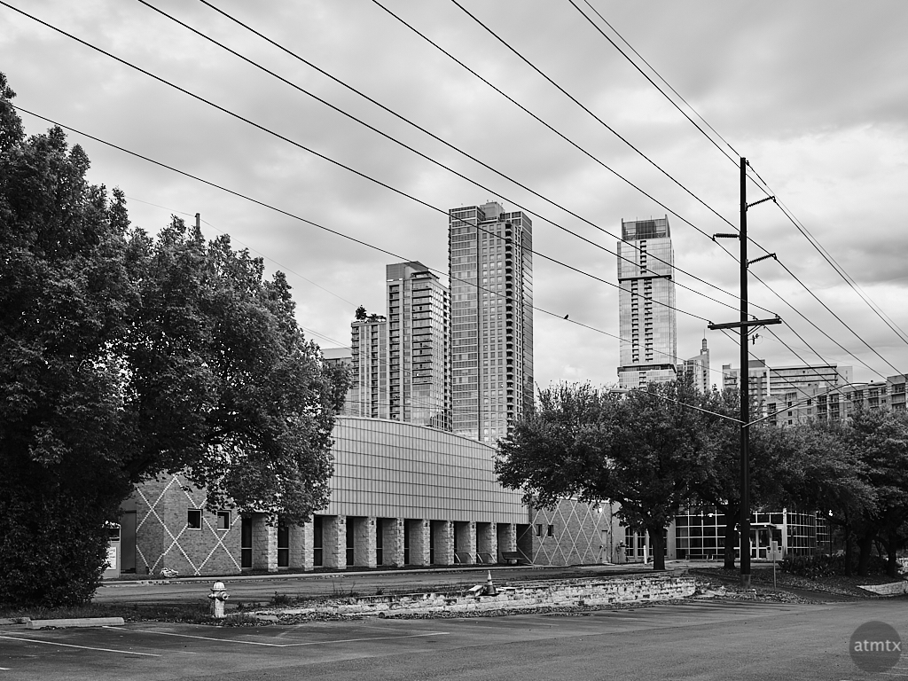 Town Lake YMCA and Skyline - Austin, Texas