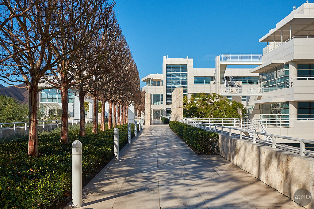 Alley and Structure, Getty Center - Los Angeles, California