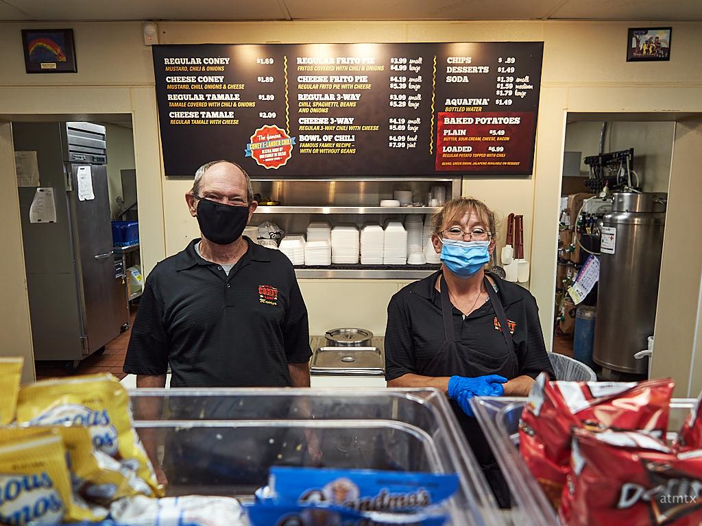Dennis and Cathy, The Coney I-Lander - Tulsa, Oklahoma