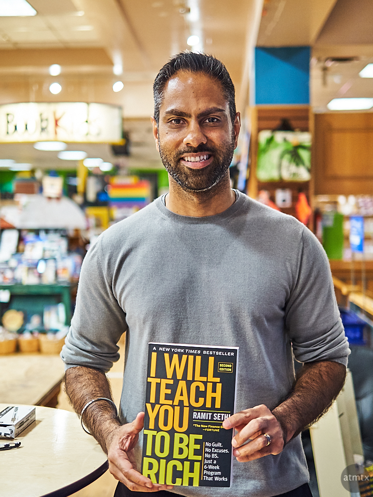 Ramit Sethi, Book Tour - Austin, Texas