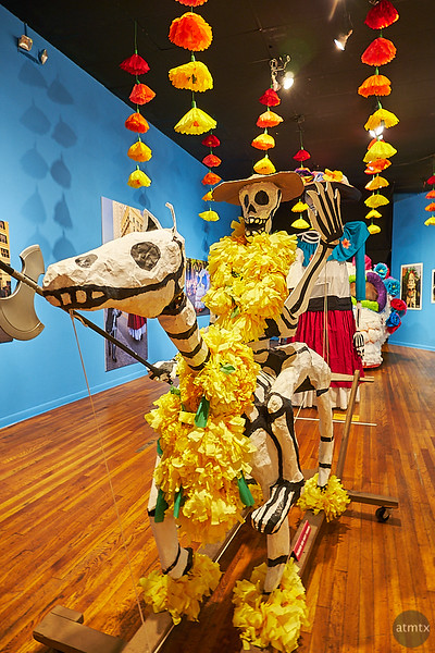 Mojigangas Expanded, Mexic-Arte Museum - Austin, Texas