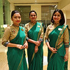 Hosts, ITC Gardenia - Bangalore, India