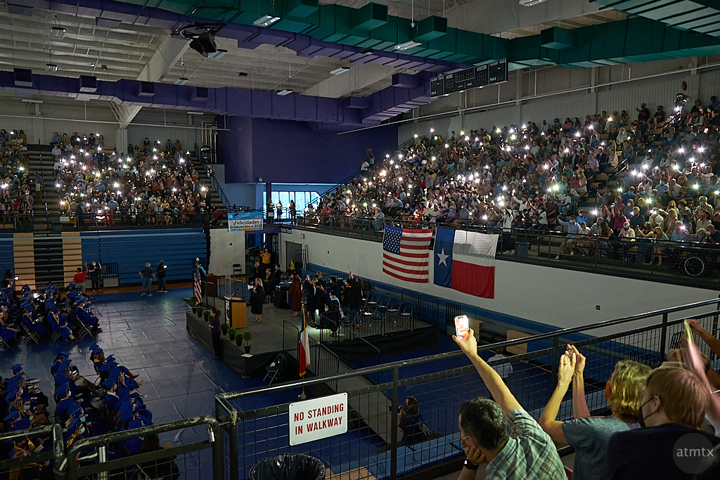 Graduation Power Failure - Austin, Texas
