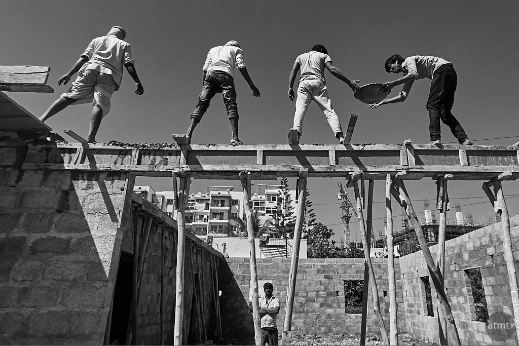 Hand-made Construction - Bangalore, India