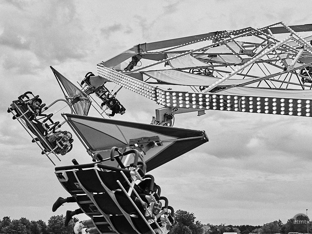 Simulated Gliding, Rodeo Austin - Austin, Texas