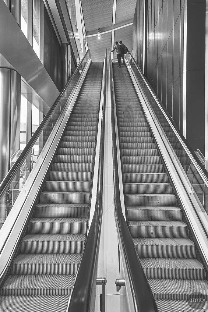Long Escalator, Heathrow Airport - Longford, United Kingdom