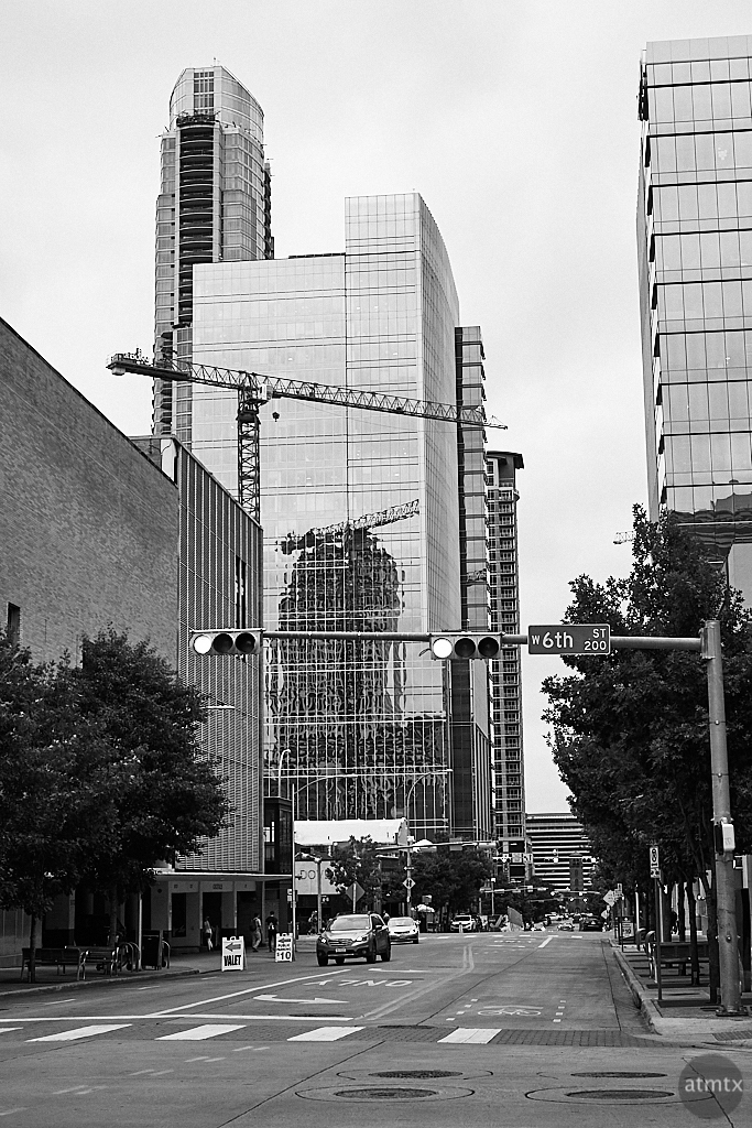 Cranes of Downtown - Austin, Texas