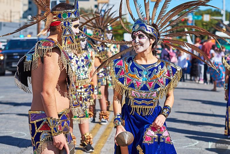Interaction, Dia de los Muertos Parade - Austin, Texas