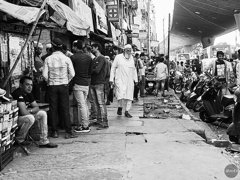 Man in White - Bangalore, India