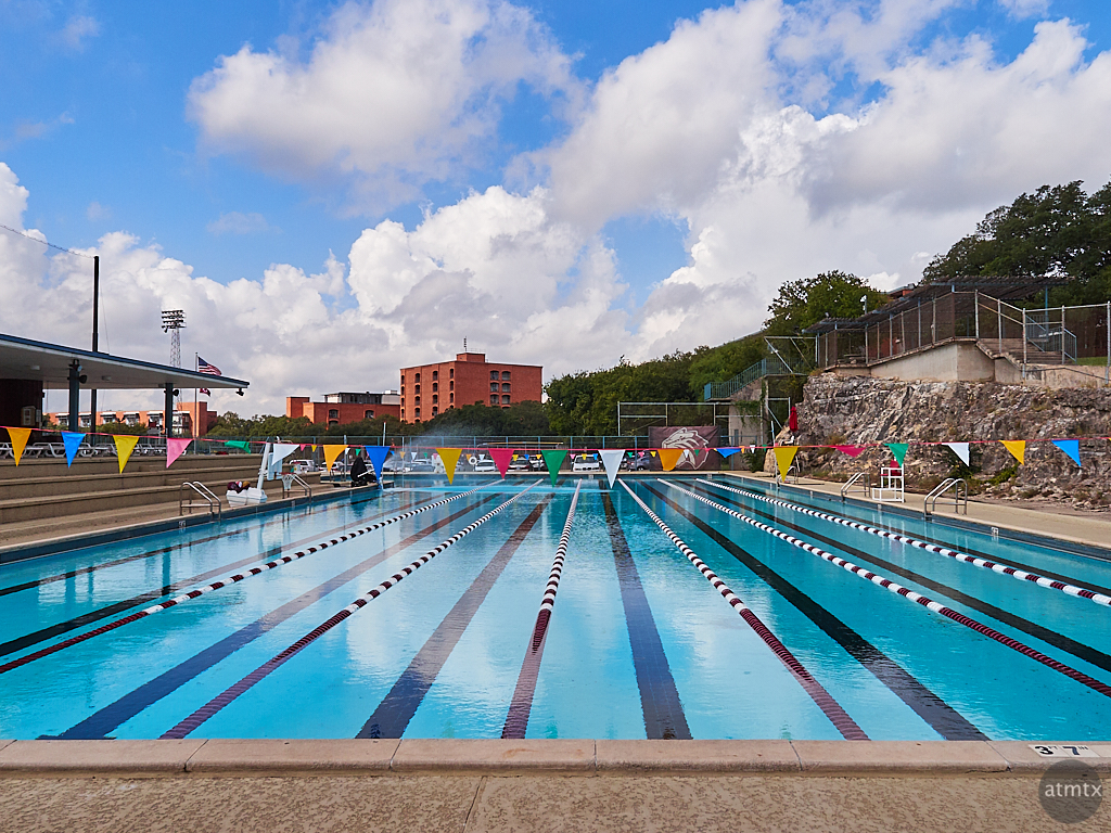 Swimming Pool, Trinity University - San Antonio, Texas