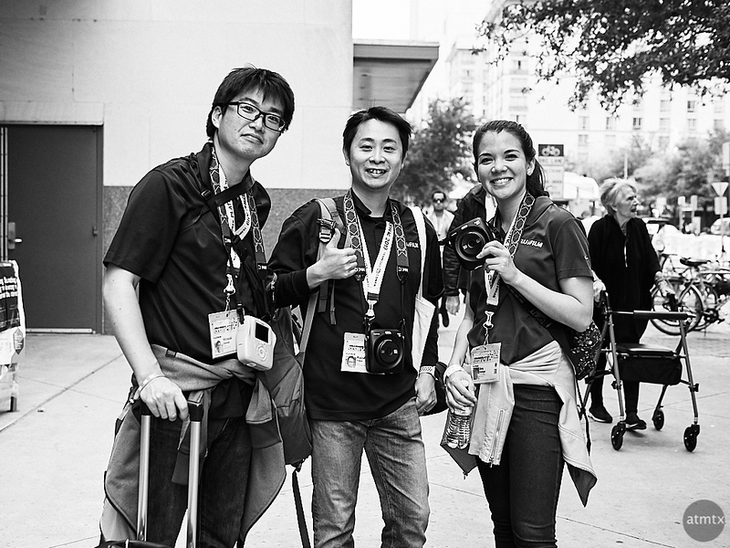 Fuji Guys (and Gal), SXSW 2019 - Austin, Texas