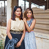Priya and Sarika, Abandoned Building - Bangalore, India