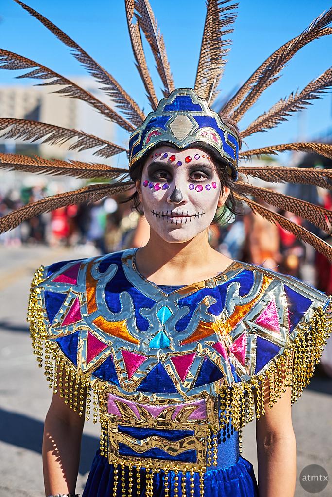 Sara, Dia de los Muertos - Austin, Texas (Fujifilm, after)