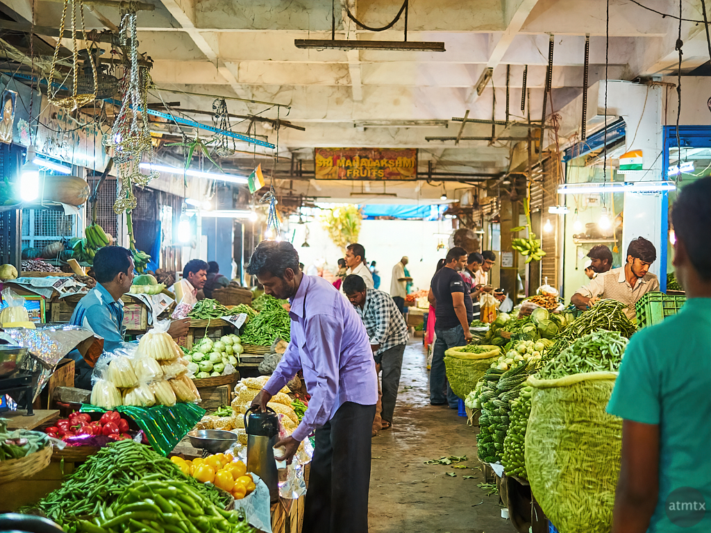 KR Market - Bangalore, India