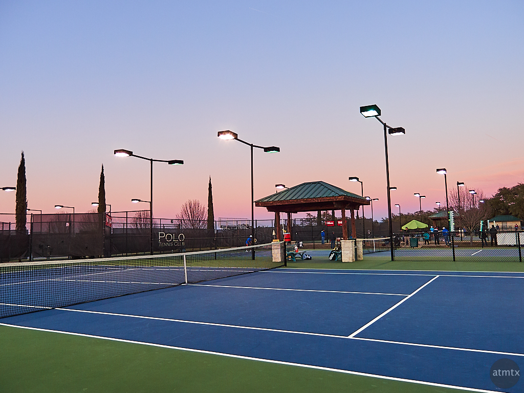Polo Tennis Club Sunset - Austin, Texas