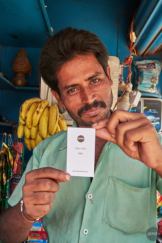 Brajendra, Street Portrait - Bangalore, India