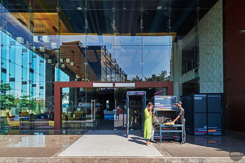 Aloft Entrance - Bangalore, India