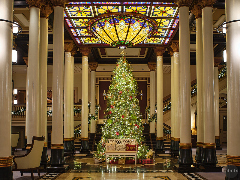 Driskill Christmas Tree 2020 - Austin, Texas