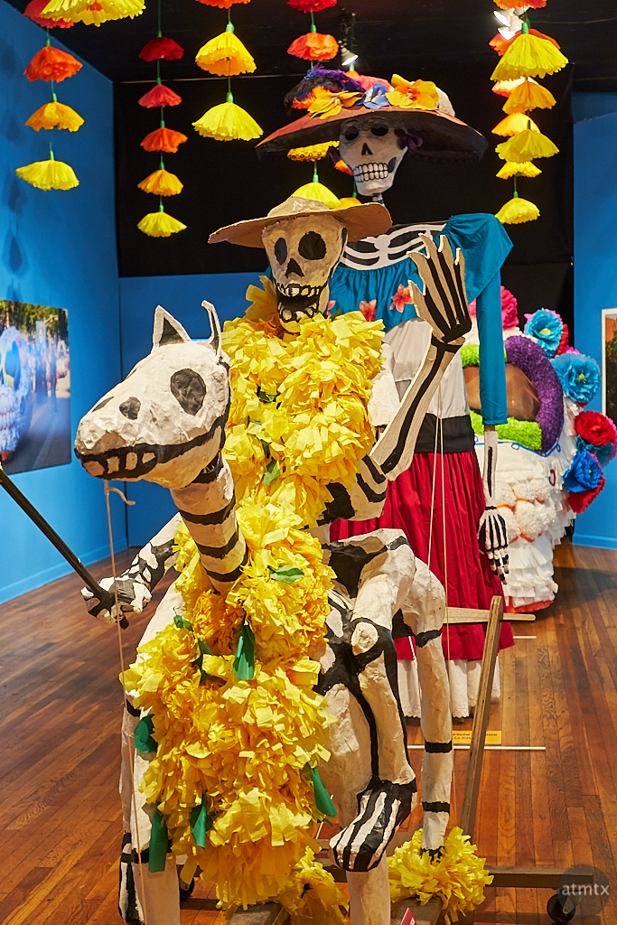 Mojigangas Compressed, Mexic-Arte Museum - Austin, Texas