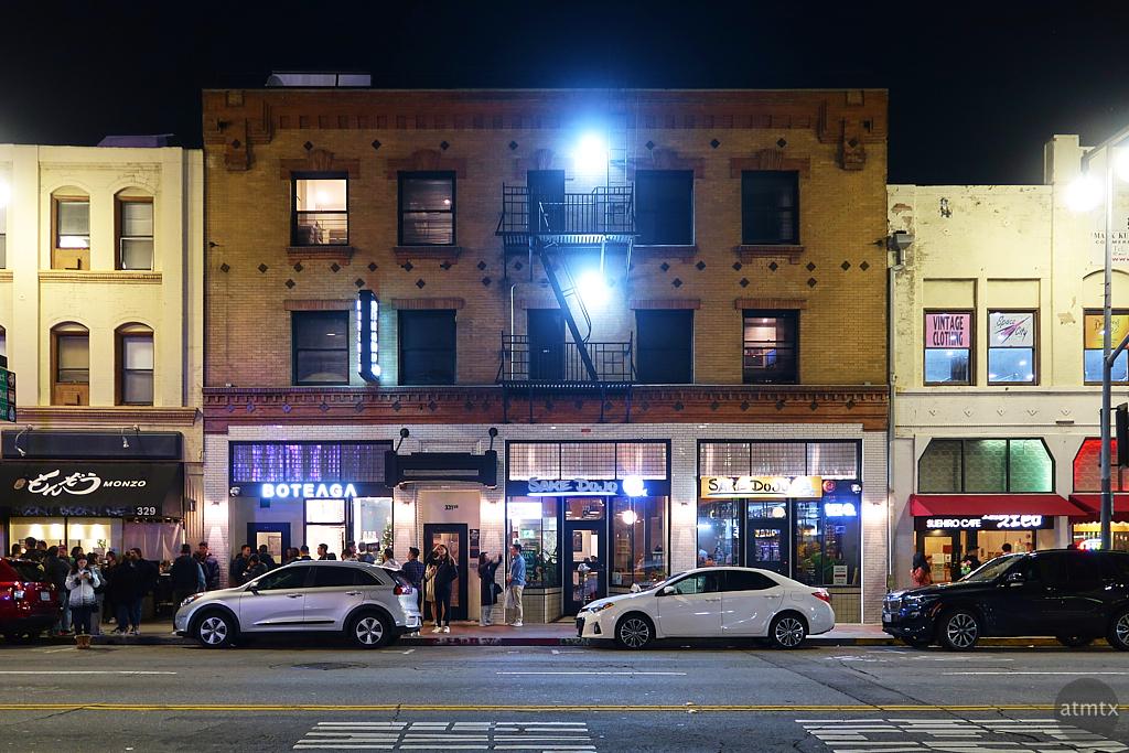 Nightlife in Little Tokyo - Los Angeles, California