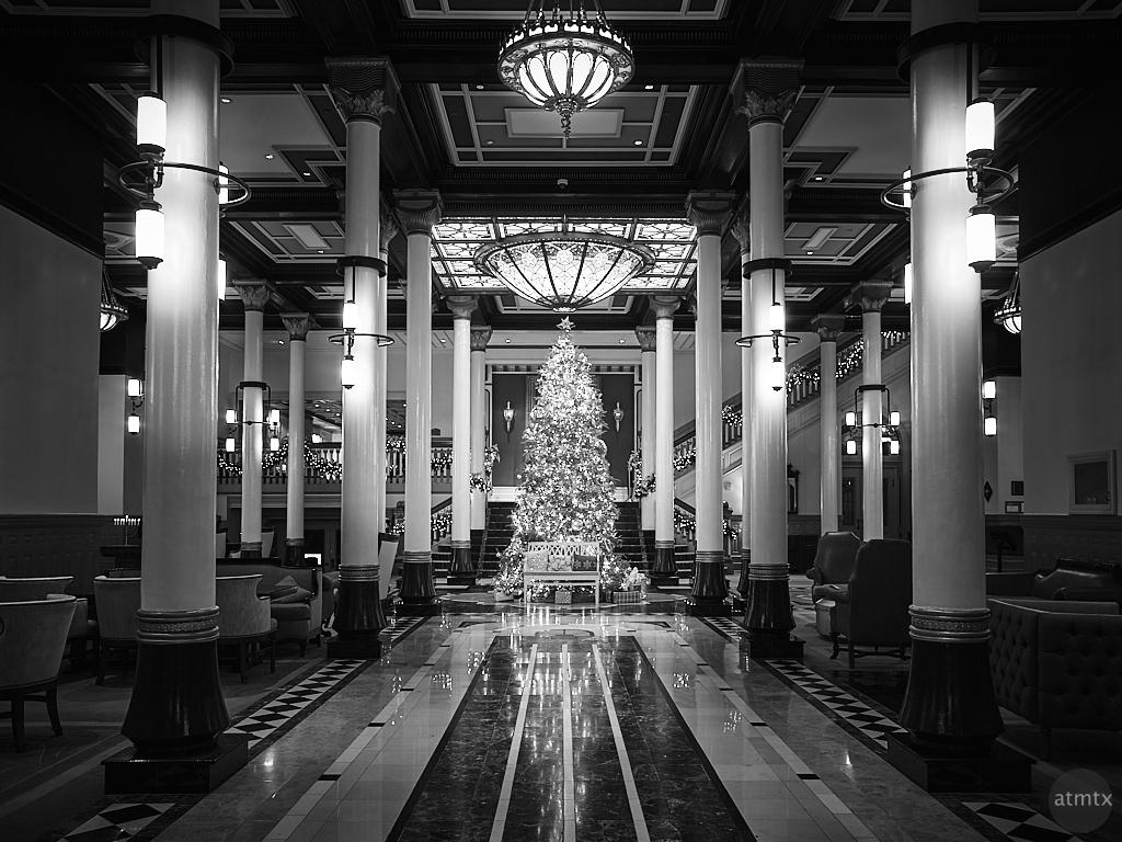 Driskill Christmas Tree 2020 - Austin, Texas