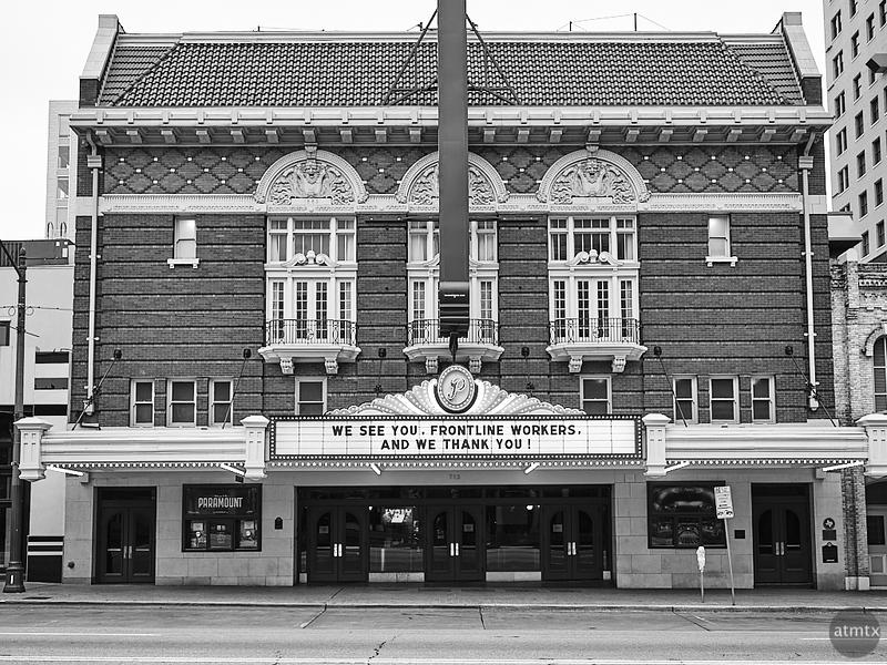 Paramount Facade, Congress Avenue - Austin, Texas