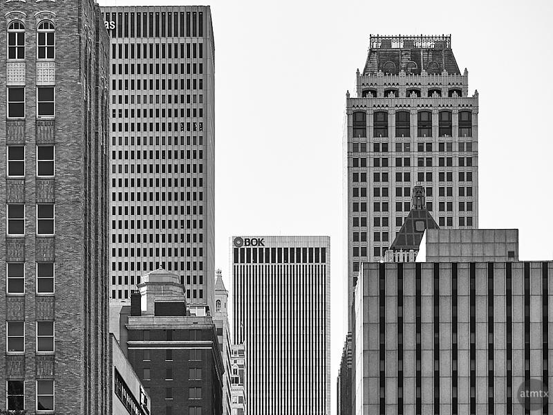 Texture and Geometry - Tulsa, Oklahoma