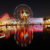 Before the Light Show, Disney California Adventure - Anaheim, California