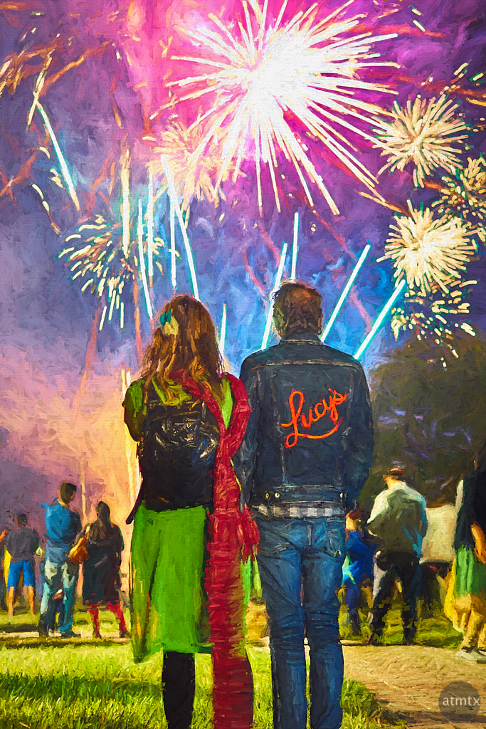 Diwali Fireworks - Austin, Texas