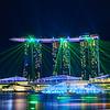 Light Show, Marina Bay Sands - Singapore