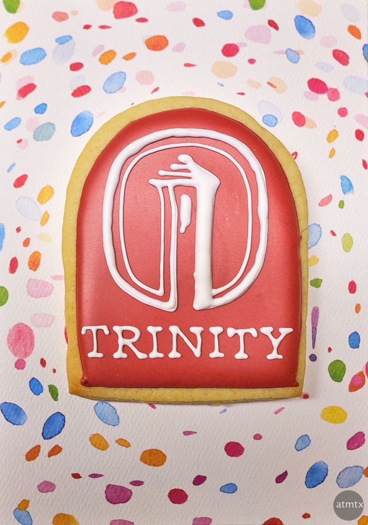 Trinity Graduation Cookie - Austin, Texas