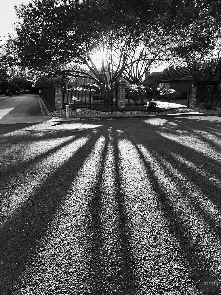 Suburban Sunset - Austin, Texas