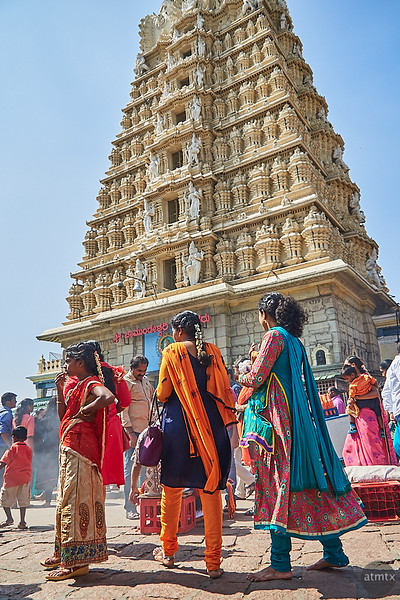 Vivid Color, Chamundeshwari Temple - Mysore, India